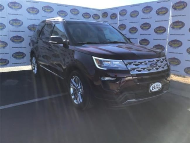 New 2019 Ford Explorer XLT SUV in San Angelo. TX