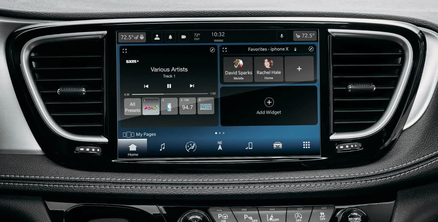 Pacifica Infotainment System