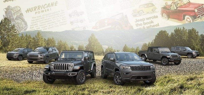 Jeep's® 80th Anniversary Limited Edition Lineup