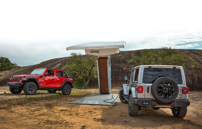 Jeep Wrangler 4xe Charging in Birmingham, AL