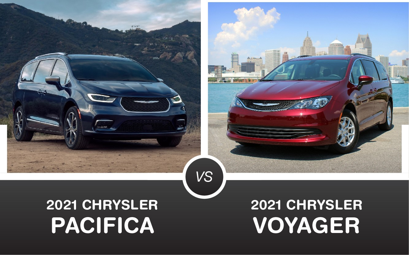2021 Chyrsler Pacifica vs 2021 Chysler Voyager