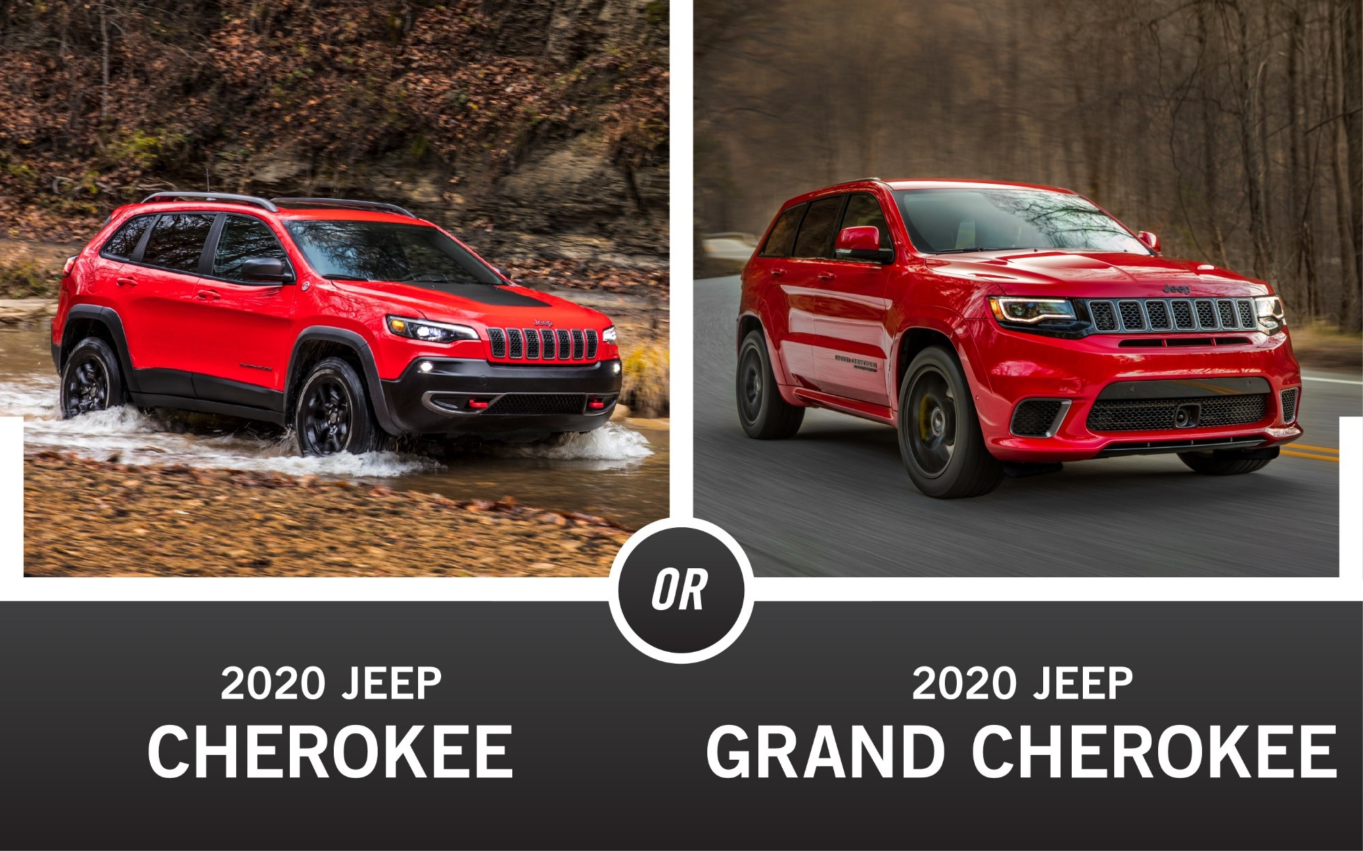 2021 Jeep vs 2021 Jeep Grand Cherokee