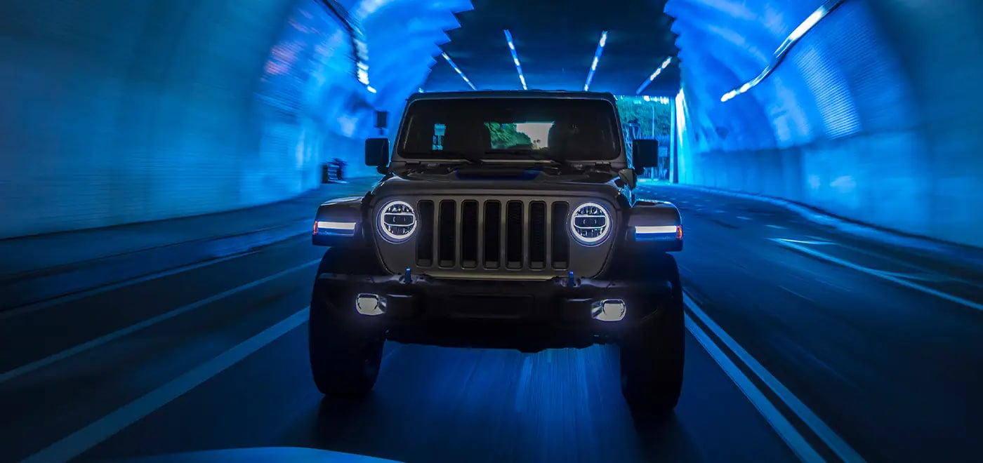 Jeep Wrangler 4xe Driving in Birmingham, AL
