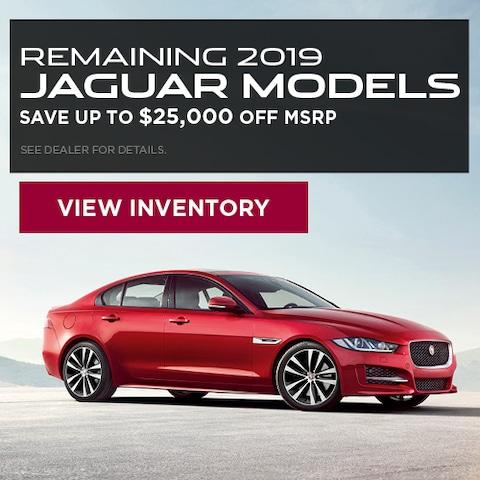 Remaining 2019 Jaguar Models