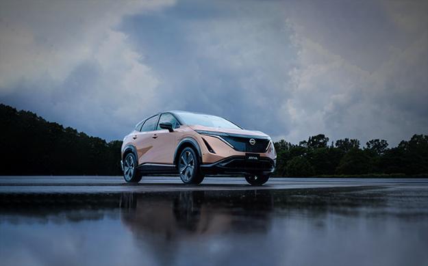 All-Electric Nissan Ariya Crossover