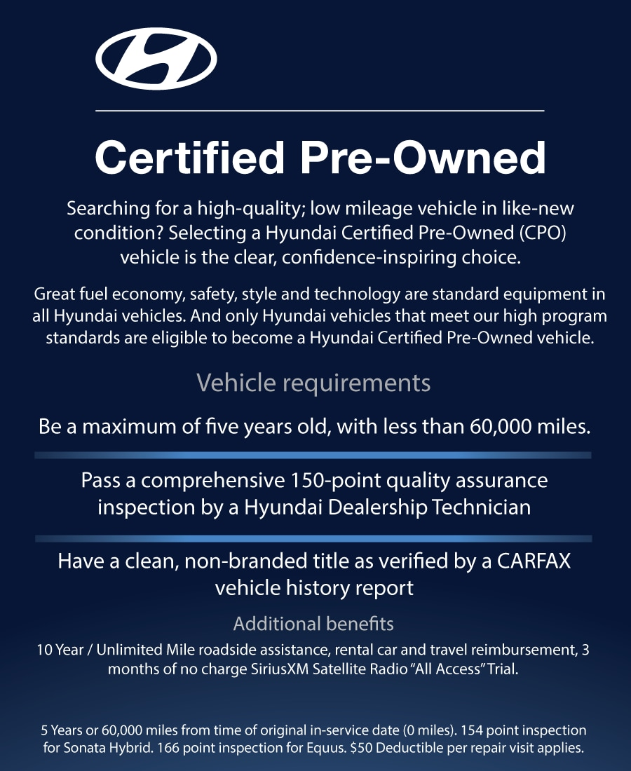 Certified Pre Owned Acura Rdx: Hyundai Certified Pre-Owned Program