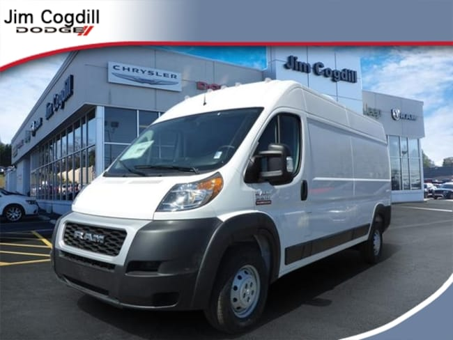 New 2019 Ram ProMaster 3500 CARGO VAN HIGH ROOF 159 WB Cargo Van for sale in Knoxville, TN at Jim Cogdill Dodge Chrysler Jeep Ram