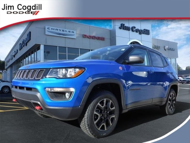 New 2019 Jeep Compass TRAILHAWK 4X4 Sport Utility for sale in Knoxville, TN at Jim Cogdill Dodge Chrysler Jeep Ram
