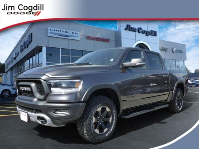 New 2019 Ram 1500 REBEL CREW CAB 4X4 5'7 BOX Crew Cab for sale in Knoxville, TN at Jim Cogdill Dodge Chrysler Jeep Ram