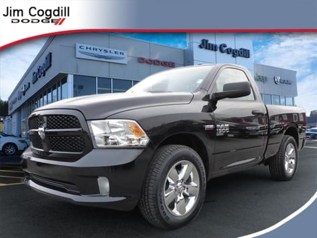 New 2019 Ram 1500 CLASSIC EXPRESS REGULAR CAB 4X2 6'4 BOX Regular Cab for sale in Knoxville, TN at Jim Cogdill Dodge Chrysler Jeep Ram