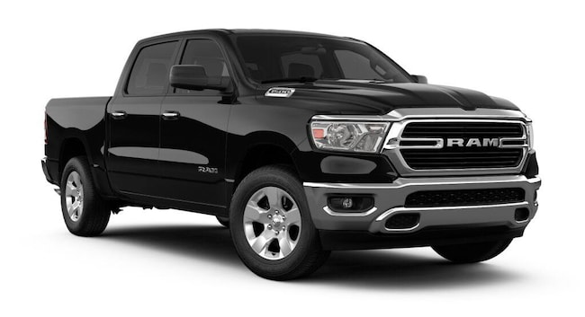 New 2019 Ram 1500 BIG HORN / LONE STAR CREW CAB 4X4 5'7 BOX Crew Cab for sale in Knoxville, TN at Jim Cogdill Dodge Chrysler Jeep Ram