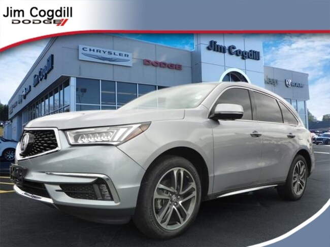 Used 2017 Acura MDX V6 SH-AWD with Advance & Entertainment Packages SUV For sale near Maryville TN