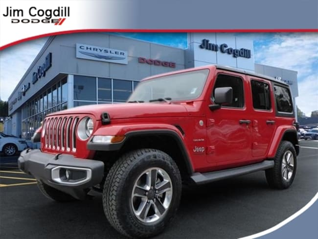 Jeeps For Sale In Tn >> New 2019 Jeep Wrangler Unlimited Sahara 4x4 For Sale In Knoxville