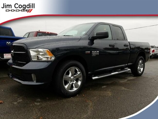 New 2019 Ram 1500 CLASSIC EXPRESS QUAD CAB 4X4 6'4 BOX Quad Cab for sale in Knoxville, TN at Jim Cogdill Dodge Chrysler Jeep Ram