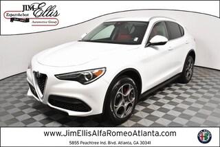 New 2019 Alfa Romeo Stelvio Ti AWD Sport Utility AR1614 for Sale in Atlanta at Jim Ellis Alfa Romeo Atlanta