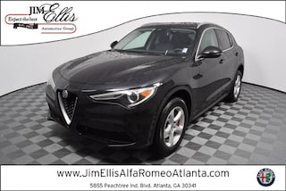 New 2019 Alfa Romeo Stelvio AWD Sport Utility AR1553 for Sale in Atlanta at Jim Ellis Alfa Romeo