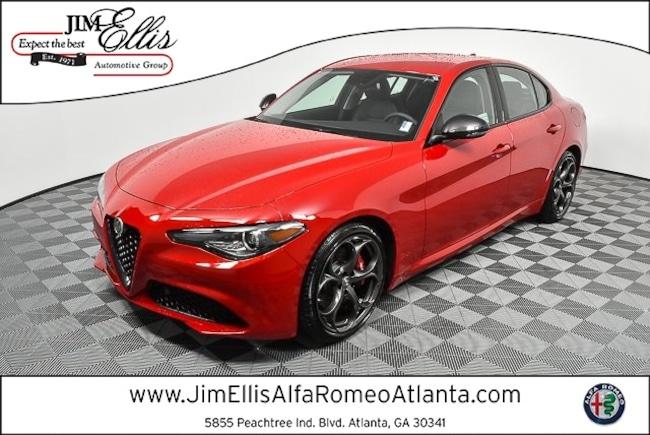 2019 Alfa Romeo Giulia Ti RWD Sedan