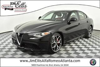 New 2019 Alfa Romeo Giulia SPORT RWD Sedan AR1566 for Sale in Atlanta at Jim Ellis Alfa Romeo