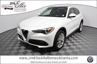 New 2019 Alfa Romeo Stelvio Ti LUSSO AWD Sport Utility AR1559 for Sale in Atlanta at Jim Ellis Alfa Romeo Atlanta