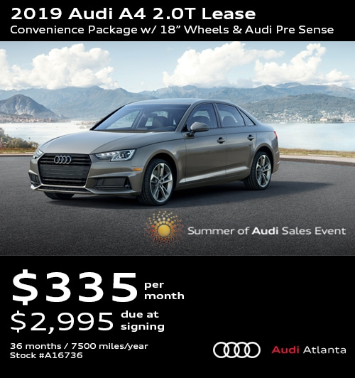 Audi Lease Deals >> Audi Lease Specials Promo Deals In Atlanta Updated