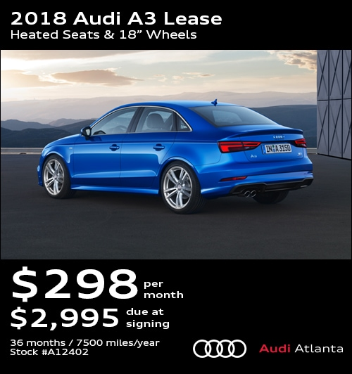 Audi Lease Specials Promo Deals In Atlanta UPDATED - Audi a3 lease