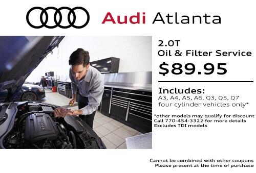 Audi Service Coupons Specials Amp Deals In Atlanta Updated
