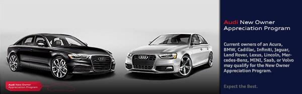 New Owner Appreciation Program Audi Atlanta