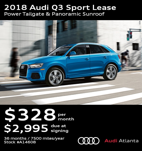 Audi Lease Specials Promo Deals In Atlanta UPDATED - Audi cars on lease