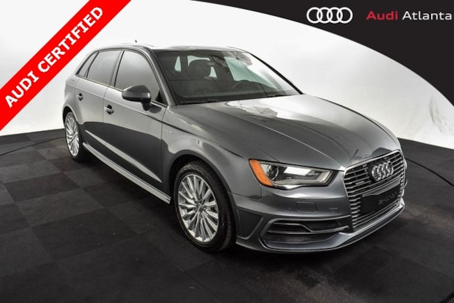 Certified Used 2016 Audi A3 E Tron In Atlanta Used Audi Car Dealer