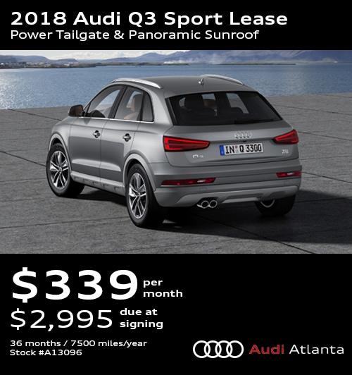 Audi Q3 Lease Deals Atlanta