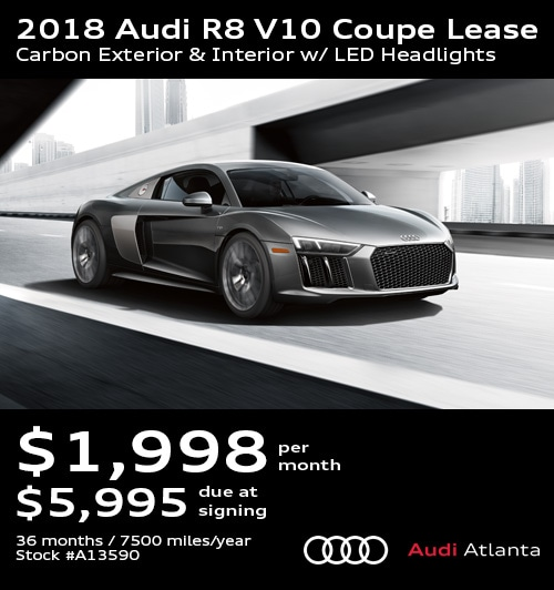 Audi Lease Specials Promo Deals In Atlanta UPDATED - Audi r8 lease