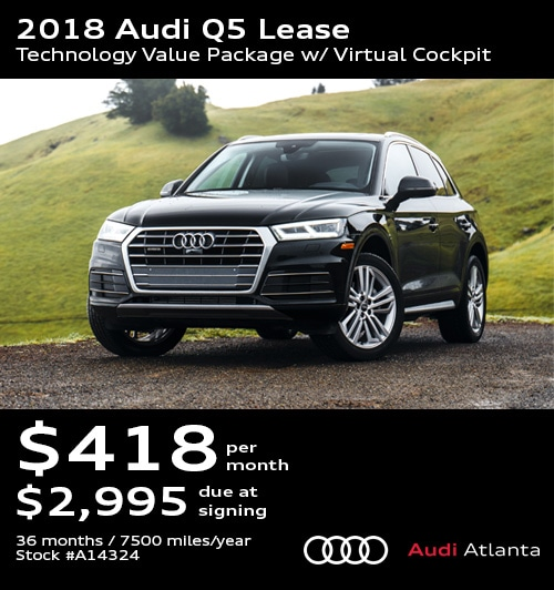 Audi Lease Specials & Promo Deals In Atlanta (UPDATED
