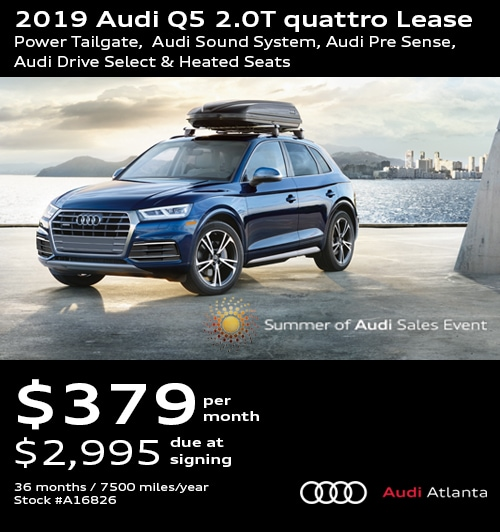 Audi Q5 Lease >> Audi Lease Specials Promo Deals In Atlanta Updated