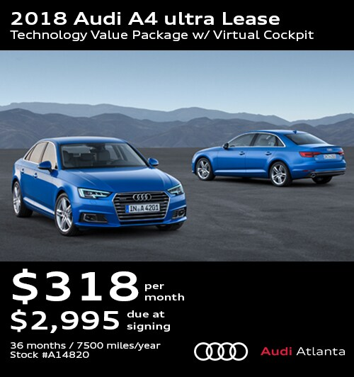 Audi Lease Specials Promo Deals In Atlanta UPDATED - Audi a4 lease