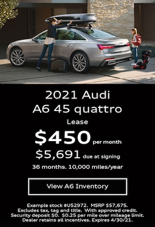 Audi A6 Lease Offer April 2021