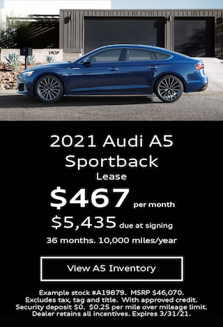 A5 Sportback Lease March 21