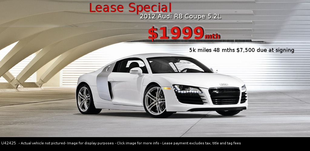 Audi R8 Coupe Lease Deal Atlanta Audi Marietta
