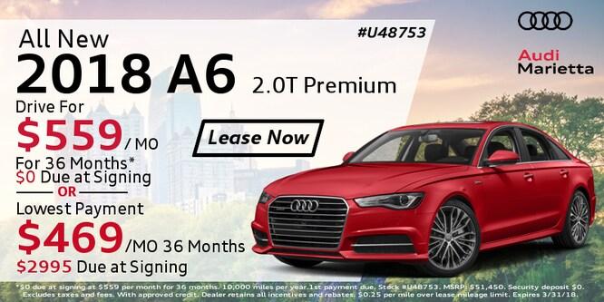 Audi Marietta Lease Specials Incentives Near Atlanta - Audi car incentives