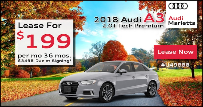 Audi Lease Specials Incentives SPECIALS Atlanta - Audi leases