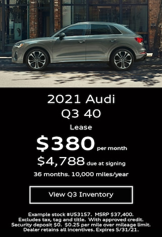 Audi Q3 Lease Offer May 2021