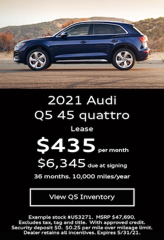 Audi Q5 Lease Offer May 2021