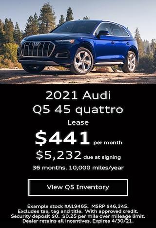 Audi Q5 Lease Offer April 2021
