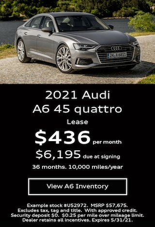 Audi A6 Lease Offer May 2021