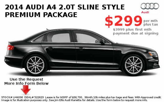 Jim Ellis Audi Atlanta >> Audi Atlanta Lease Specials A4 A6 A8 Q5 Lease Deals