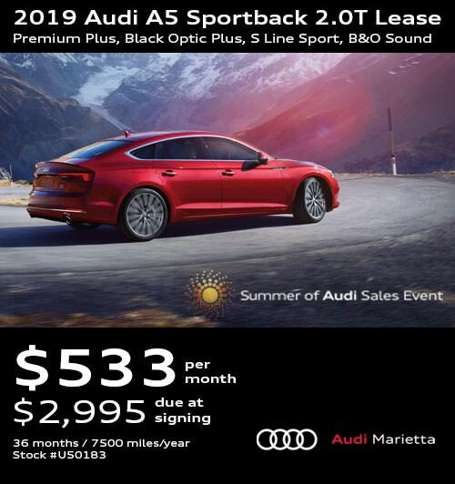 2 Year Car Lease >> Audi Lease Specials Incentives Near Atlanta Audi Marietta