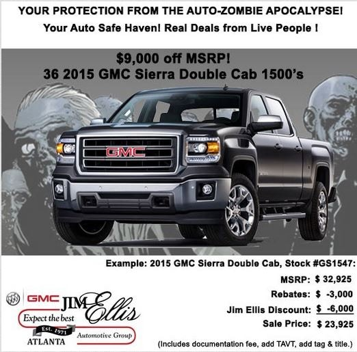 Jim Ellis Buick Gmc Atlanta Jim Ellis Buick Gmc Atlanta Has Zombie
