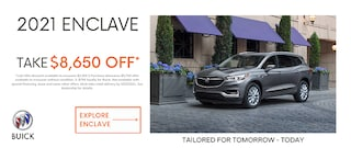 $8,650 OFF on 2021 Buick Enclave