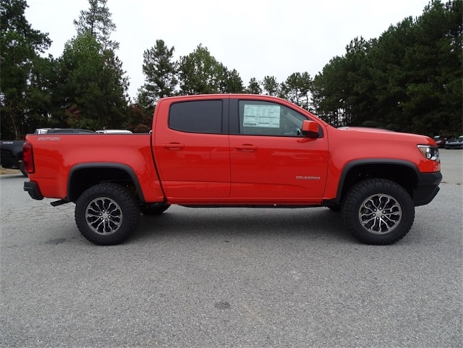 New 2019 Chevrolet Colorado Truck Crew Cab For Sale Atlanta Vin