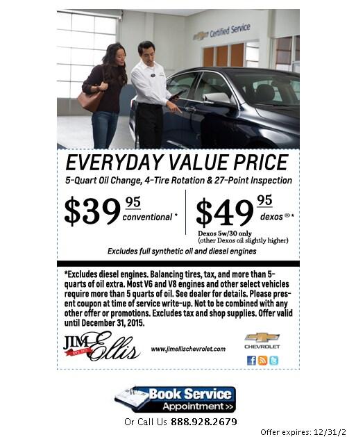 Service Your Car Truck Or Suv At Jim Ellis Chevy Atlanta Jim