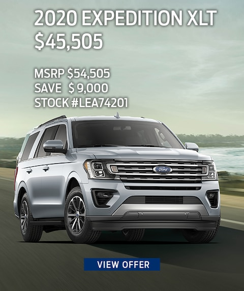 2020 Ford Expedition Purchase Offer